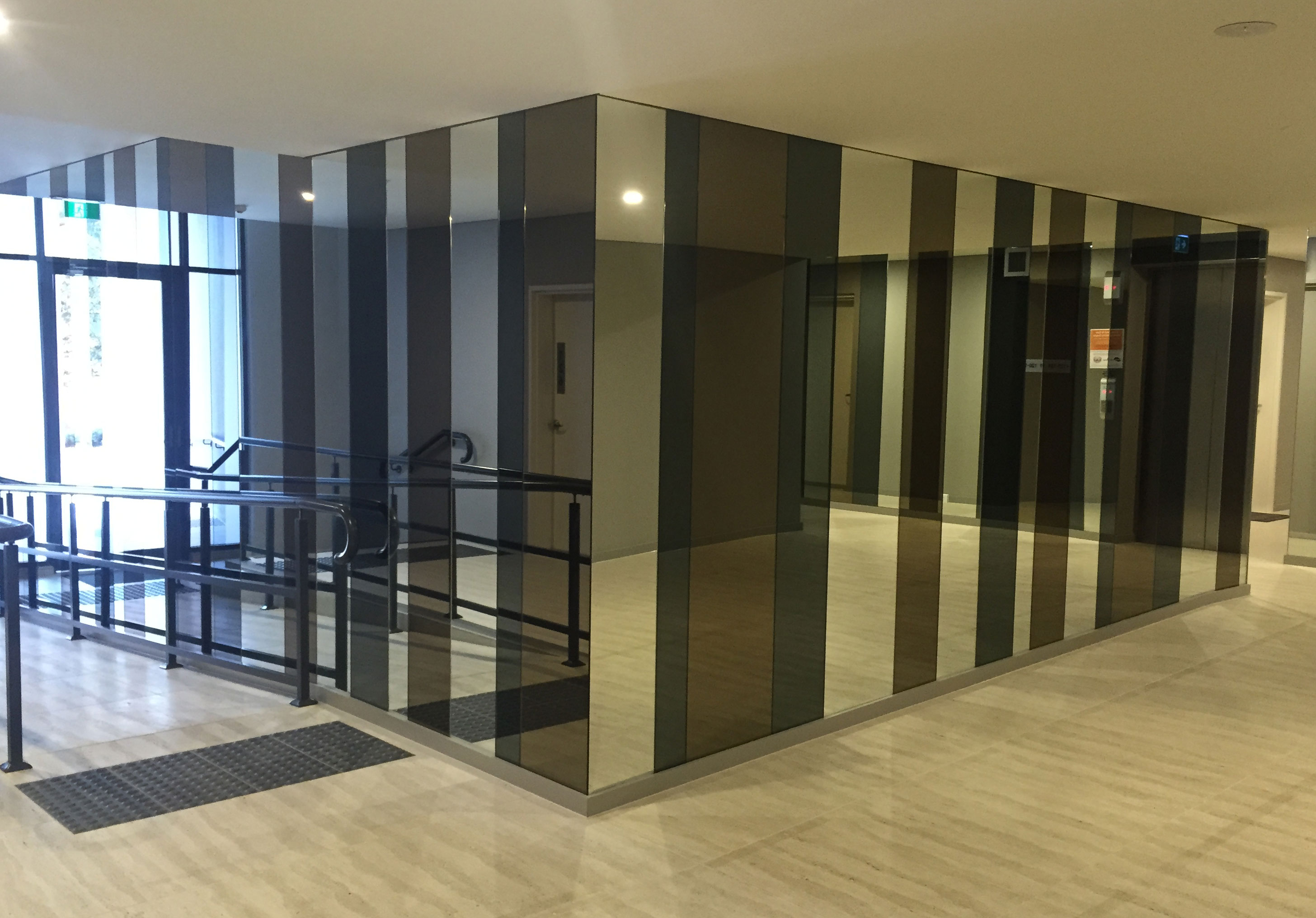Commercial project – Riverwood lobby