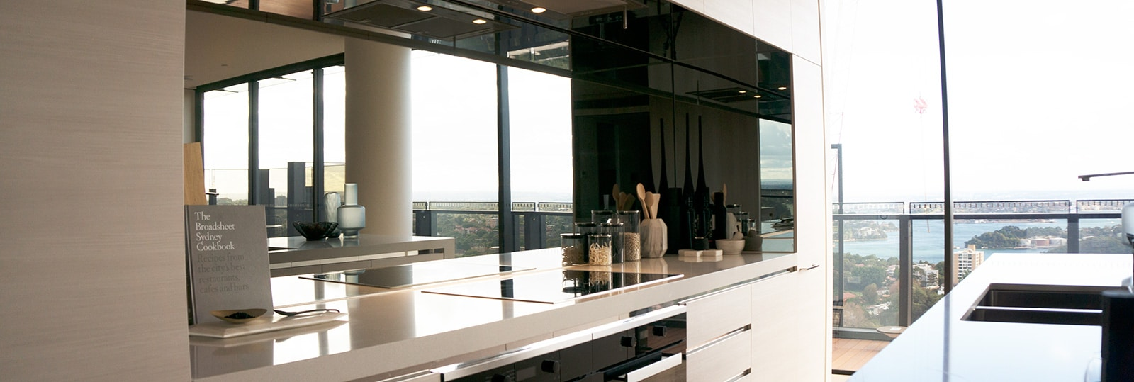 Mirror Glass Splashback
