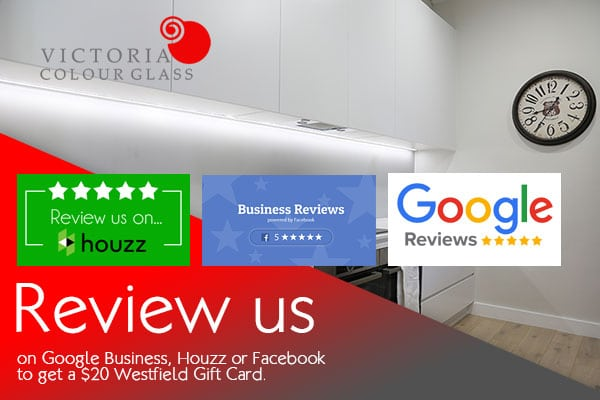 Review us on Facebook, Google or Houzz